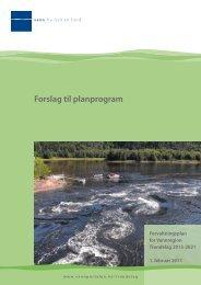 Forslag til planprogram for - Nord-Trøndelag fylkeskommune