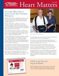 July 2010 - Minneapolis Heart Institute Foundation