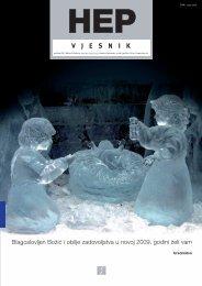 Broj 214/215, studeni/prosinac 2008. - HEP Grupa