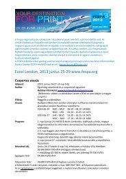 Fespa London 2013 ajánlatok.pdf - mgonline