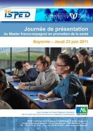 Programme - Isped - Université Bordeaux Segalen