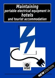Maintaing Electrical Equipment in Hotels