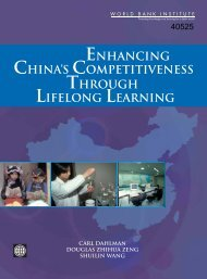 Enhancing China's Competitiveness Through Lifelong Learning ...
