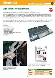 Chapter 13 - Veterinary Instrumentation