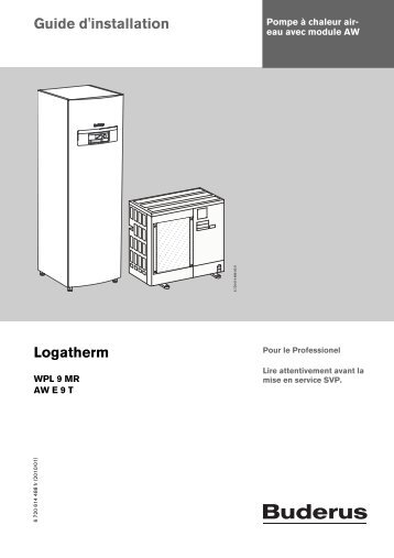 Guide d'installation Logatherm - Buderus