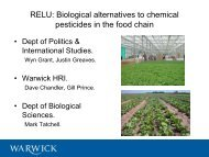 How biopesticides can help the rural economy - Rural Economy and ...