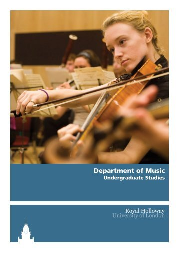 Department of Music - Royal Holloway, University of London