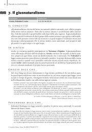 7. Il giusnaturalismo - Loescher Editore