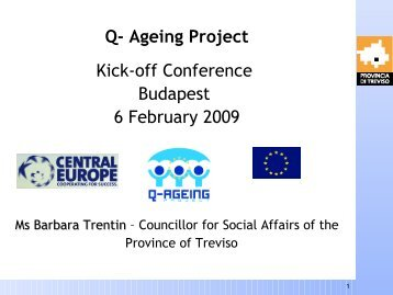 Province of Treviso - Q-AGEING project