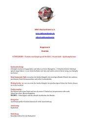 Rumble - Regelwerk - WKF Deutschland eV