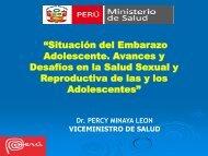 Situación del Embarazo Adolescente - Mesa de Concertación para ...