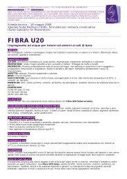 FIBRA U20 - Solas