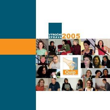 výroční zpráva 2005 - Quip