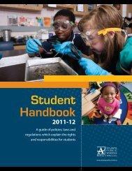 Student Handbook - Atlanta Public Schools