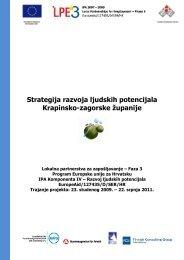 Strategija razvoja ljudskih potencijala Krapinsko-zagorske županije