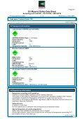 EU Material Safety Data Sheet - Technolasa - Page 5