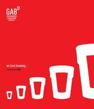 Full Version Guinness Anchor Berhad Annual Report 2008 - Gab