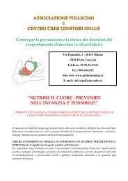 Nutrire il cuore - Milano Ristorazione