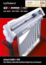 Roland CAMM-1 PRO - Farben-Frikell