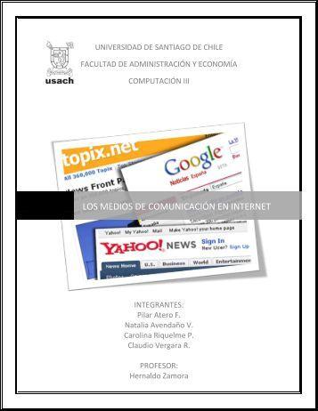 los medios de comunicación en internet - Tecnologías y Empresas