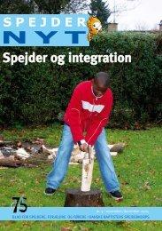 Spejder og integration - Danske Baptisters Spejderkorps