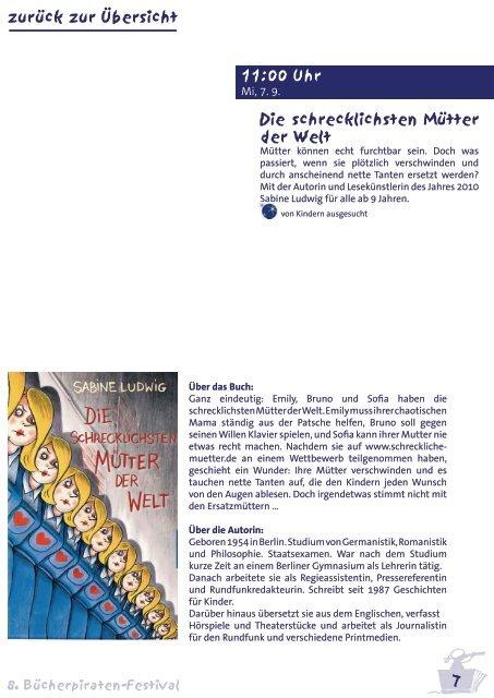 Das Bücherpiraten Festival wird gefördert von - Bücherpiraten eV
