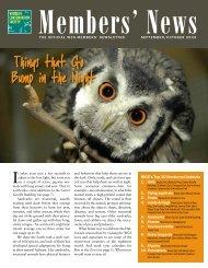 WCS's Top 10 Nocturnal Animals - University of Minnesota