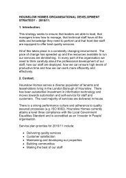 Towards developing a training and development ... - Hounslow Homes