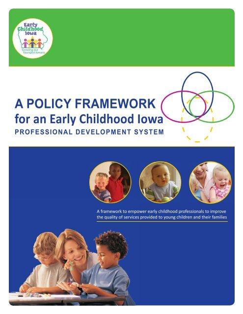 ECI Professional Development Framework - Iowa AEYC