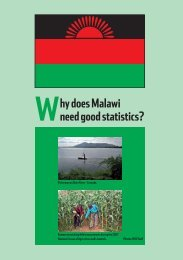 hy does Malawi need good statistics? W - Paris21