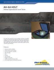 AH-64 HOLT Data Sheet - Elbit Systems of America