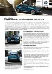 NOVÉ BMW X6: ÚSPĚŠNÝ PŘÍBĚH NEJLÉPE PRODÁVANÉHO ...
