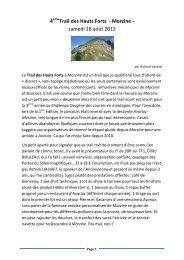 4 Trail des Hauts Forts - Morzine - samedi 18 août 2012 - Avoc