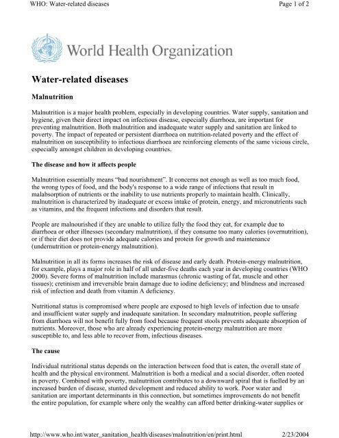 Rice Fact Sheet - World Health Organization - Rice Knowledge