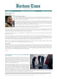 Bjerknes Times 9/2008 (pdf) - Universitetet i Bergen