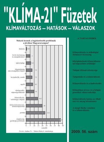 KLÍMA-21 Füzetek 56. szám - VAHAVA Hálózat