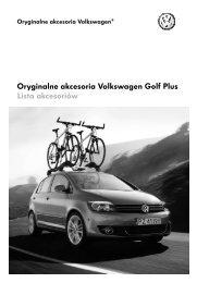 Oryginalne akcesoria Volkswagen  Golf Plus Lista ... - besmarex.com.pl