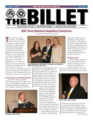 2007 Texas Radiation Regulatory Conference - South Texas Chapter