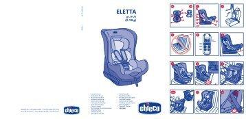 Автокресло Eletta 0+/1 - Chicco