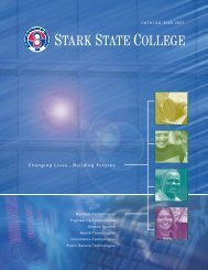 Changing Lives…Building Futures - Stark State College