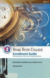Enrollment Guide - Stark State College