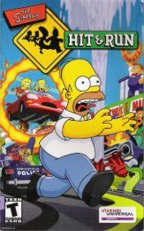 Simpsons The - Hit & Run [English].pdf - Roms4Droid
