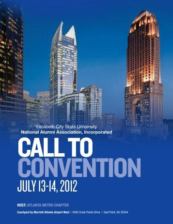JULY 13-14, 2012 - Elizabeth City State University
