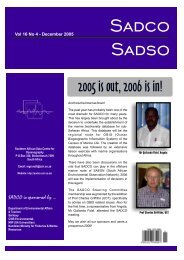 Vol. 16 No. 4 - sadco - CSIR