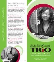 TRiO Brochure - Stark State College