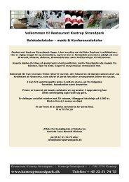 Velkommen til Restaurant Kastrup Strandpark Selskabslokaler ...