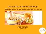 Did you have breakfast today? - CEEREAL, The European Breakfast ...
