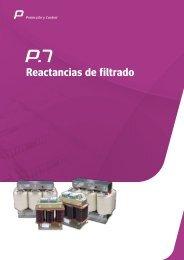 Reactancias de filtrado - Circutor