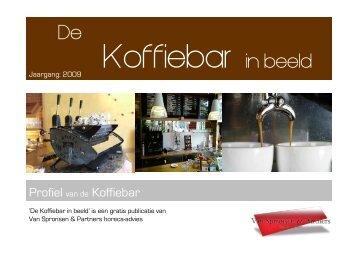 Brancheprofiel de Koffiebar in beeld maart 2009 - Van Spronsen en ...