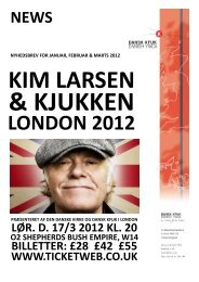 LONDON 2012 - Dansk KFUK i London